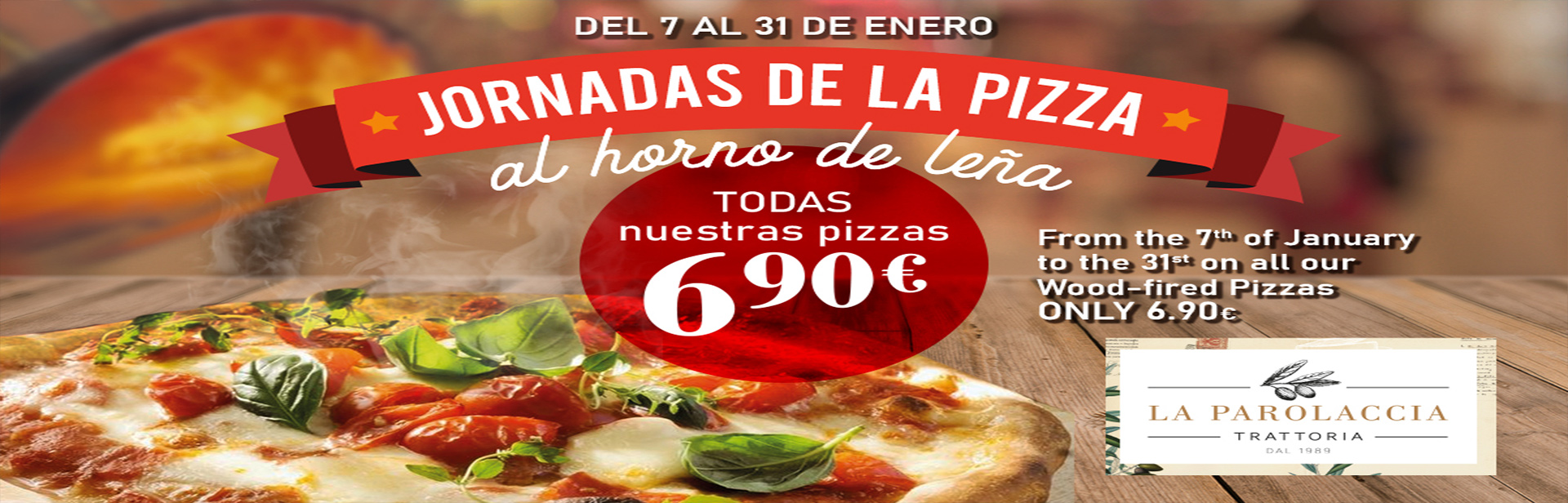 Pizza Promo La Parolaccia