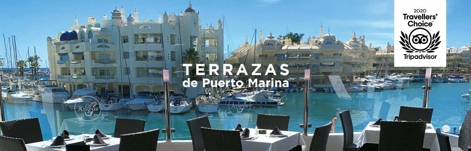 Terrazas puerto marina benalmadena